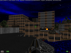 "This level from episode one also reminded me very slightly of a level from ""Duke Nukem 3D"" too :)"