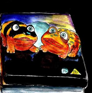 """""""1990s Frogs And More DVDs"""" By C. A. Brown"""