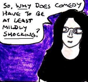 2016 Artwork comedy and shock value article sketch