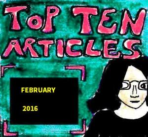 2016 Artwork Top Ten Articles February