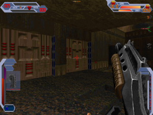 Ok, the rapidly firing shotgun gets a pass here because, well, it's a shotgun that you can shoot repeatedly very quickly.