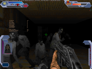 """Yes, it's a 1990s style version of """"Left 4 Dead""""! This is beyond awesome!"""