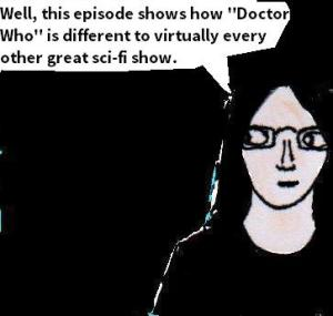 2015 Artwork Doctor Who Zygon inversion review sketch