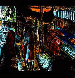 """""""City Noise"""" By C. A. Brown"""
