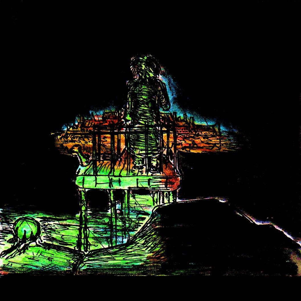 Pier 31: 2016 31st March Artwork Dark Pier « PekoeBlaze