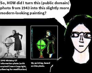 2016 Artwork creative copying article sketch