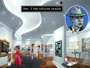 Woo hoo! Art! And it's the GOOD type of modern art (eg: actual paintings) too :)