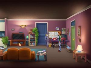 Rosa's apartment has been significantly improved too.