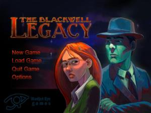 Blackwell Legacy title screen