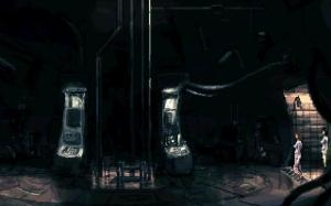 Is it just me, or does this part of the game look a little bit like a H.R. Giger painting :)