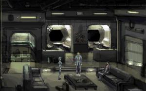 """The spaceship also reminds me a bit of a cross between """"Alien"""" and """"Cowboy Bebop"""" too :)"""