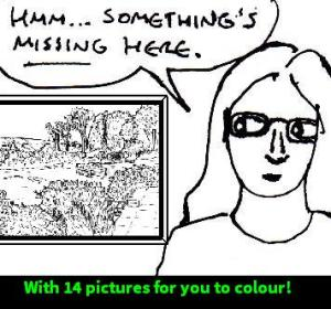 2015 Artwork My Thoughts On Colouring Books for adults
