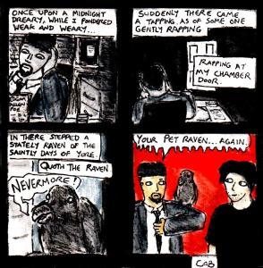 """Damania Resurgence - Raven"" By C. A. Brown (And Edgar Allen Poe)"