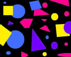 This is an example of a 1980s/ 1990s (well, more 1990s than 1980s) pattern that I made using MS Paint and a late 1990s version of Paint Shop Pro.