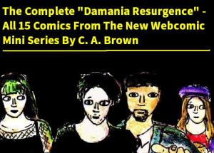 2016 Artwork Damania Resurgence Retrospective sketch