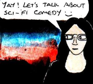 2016 Artwork Sci Fi Comedy article sketch