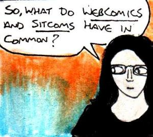 2016 Artwork Sitcoms And Webcomics article sketch