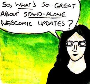 2016 Artwork Stand alone webcomic updates article sketch