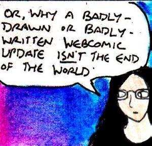 2016 Artwork Terrible webcomic update article sketch