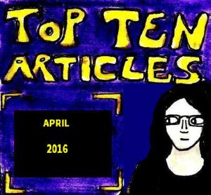 2016 Artwork Top Ten Articles April