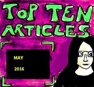 2016 Artwork Top Ten Articles May
