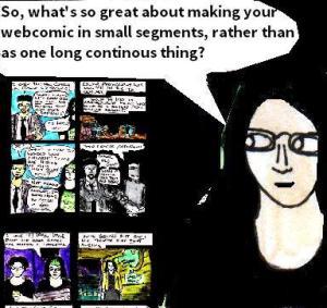 2016 Artwork Webcomic mini series  Article sketch