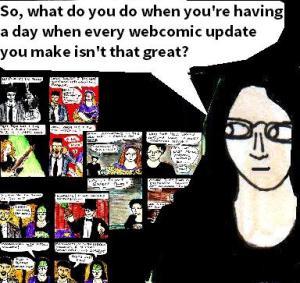 2016 Artwork  Webcomics bad days  Article sketch
