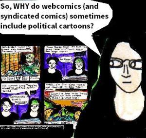 2016 ArtworkWhy  Webcomics get political  Article sketch