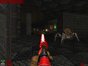 This is the laser gun! It looks and feels like a laser gun SHOULD. Other sci-fi games, please take note of this..