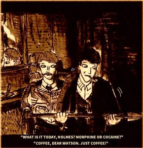 """""""Holmes And Watson Parody"""" By C. A. Brown"""