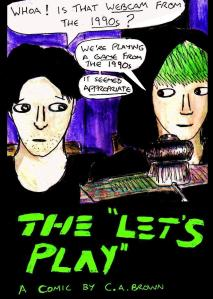 """"""" The 'Let's Play' - Cover"""" By C. A. brown"""