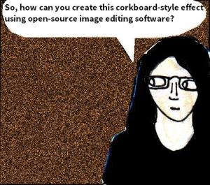 2016 Artwork Corkboard effect tutorial article sketch