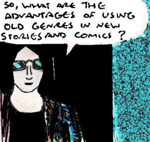 2016 Artwork Old Genres And New Stories article sketch