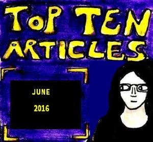 2016 Artwork Top Ten Articles June