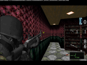 "Despite the modern-style camera angles, this game is based on ""Resident Evil 1-3"". So, running and shooting at the same time is impossible."