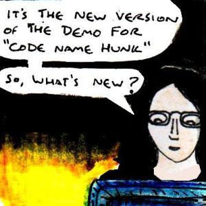 2016 Artwork Code Name Hunk 1.2 mini review sketch