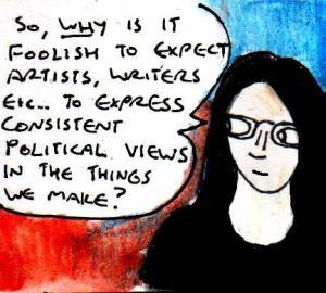 2016 Artwork Politics and consistency