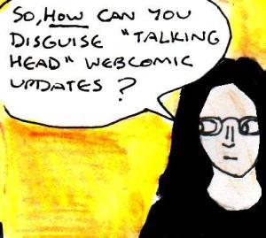 2016 Artwork Talking Head webcomics article sketch