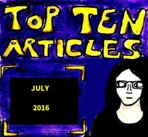 2016 Artwork Top Ten Articles July