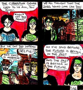 """Damania Redux - Cyberpunk"" By C. A. Brown"