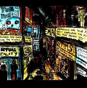 """""""Cyberpunkwharf"""" By C. A. Brown"""