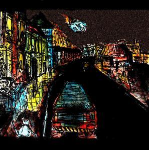 """""""Aberystwyth - Cyberpunk Coast"""" By C. A. Brown"""