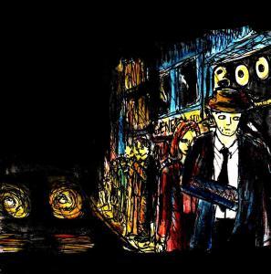 """Noir Street"" By C. A. Brown"