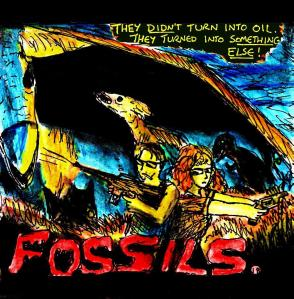 """Fake 80s Movies - Fossils"" By C. A. Brown"