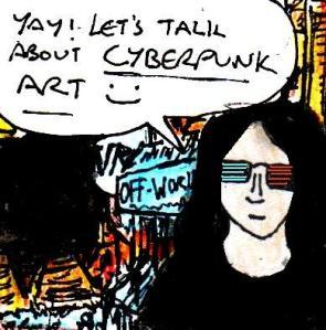 2016 Artwork Cyberpunk art and detail