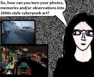 2016 Artwork Cyberpunk art based on real life