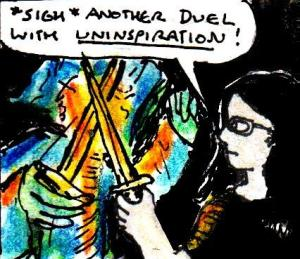 2016 Artwork Duelling with uninspiration