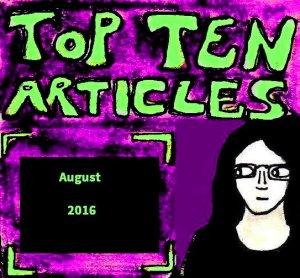 2016 Artwork Top Ten Articles August