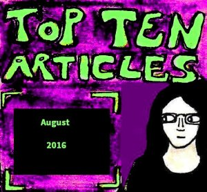 2016 Artwork Top Ten Articles August