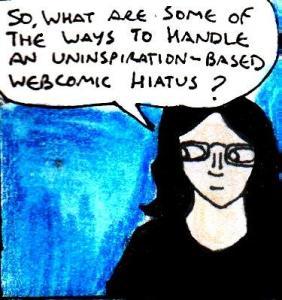2016 Artwork Uninspiration webcomic hiatus article sketch
